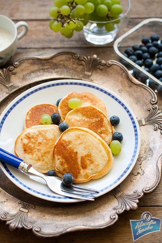 Millet Flour Pancakes/Placuszki z mąki jaglanej