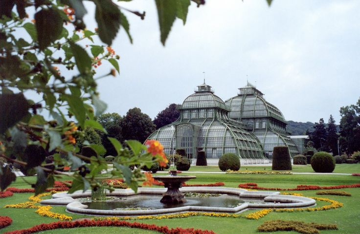 The Palm House at Shonbrunn Palace