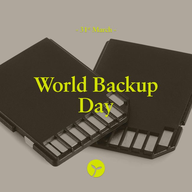 World Backup Day is today! It's a day for people to learn about the increasing role of data in our lives and the importance of regular backups. #WorldBackupDay  #bizarre #unique #holiday #holidays #backup #data #computer #sprout #freedomtogrow
