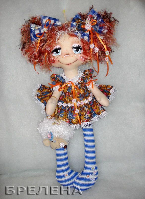 """Текстильная кукла """"Моя радость"""", кукла -подарок на Новый 2015 год."""