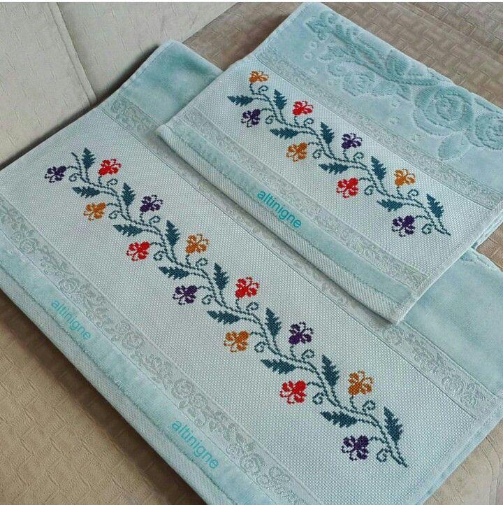 cross stitch napkin , pinterest ile ilgili görsel sonucu