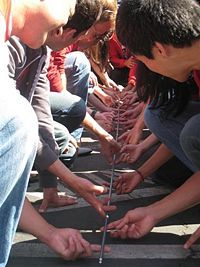 Team building/ ice breakers...LIST of MANY icebreakers or team-building exercises!---Day Camp
