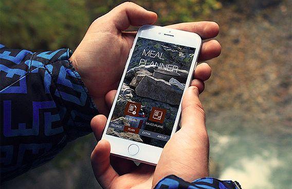 camping meal planner, trail chef, hiking food menu, hiking app