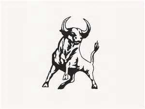 Design Of Strong Bull Tattoo Wallpaper