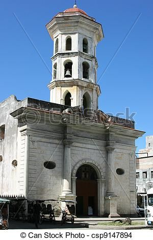 Stock Photo - Church Nuestra Senora de Montserrat - I got married on this Church on 7-9-1951