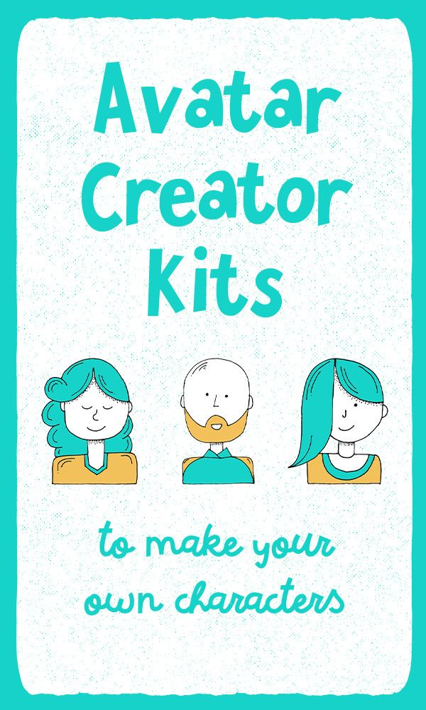 Avatar Creator Kits To Make Your Own Characters