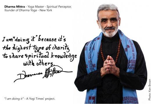 Sri #DharmaMittra in Yogitimes.com