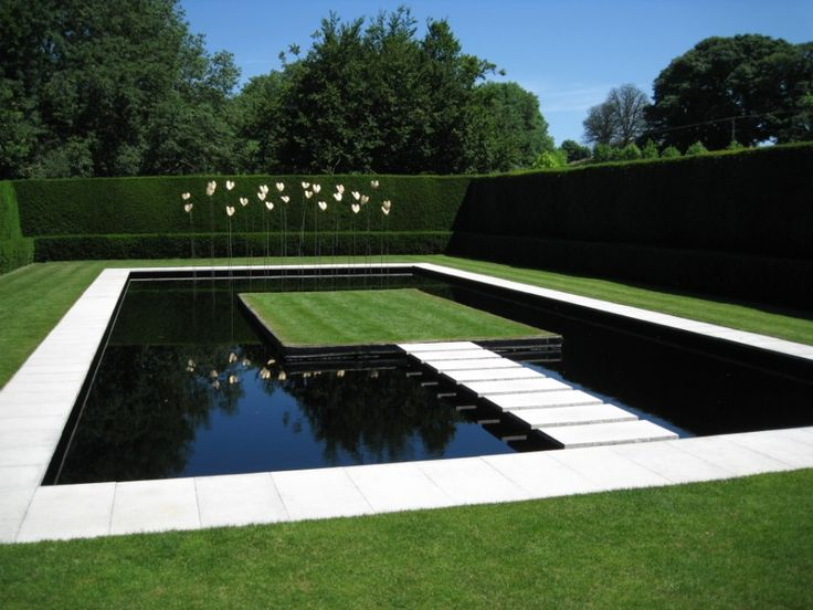 Anne Chambers's Water Garden at Kiftsgate Court, Chipping Campden