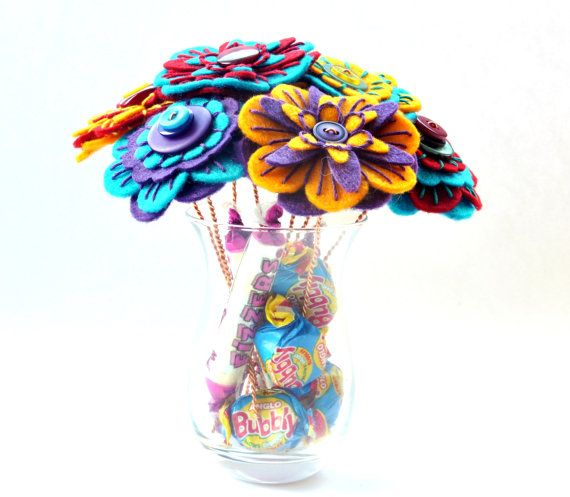 Birthday Bouquet / Floral Gift / Surprise by CharlieLaurieDesigns, £40.00