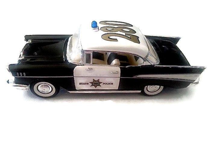 1950s Vintage Chevrolet Bel Air Police Car Model by Pegacornasaurus on Etsy