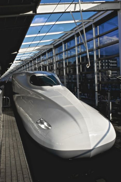 Japanese bullet train - Shinkansen #Train