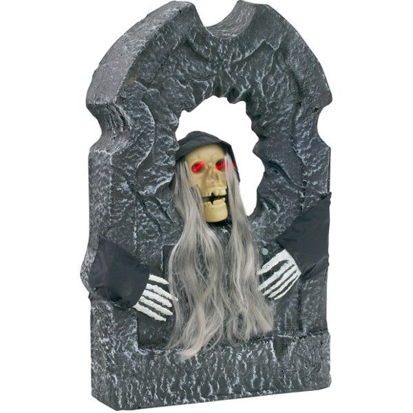 Talking Halloween Tombstone Prop