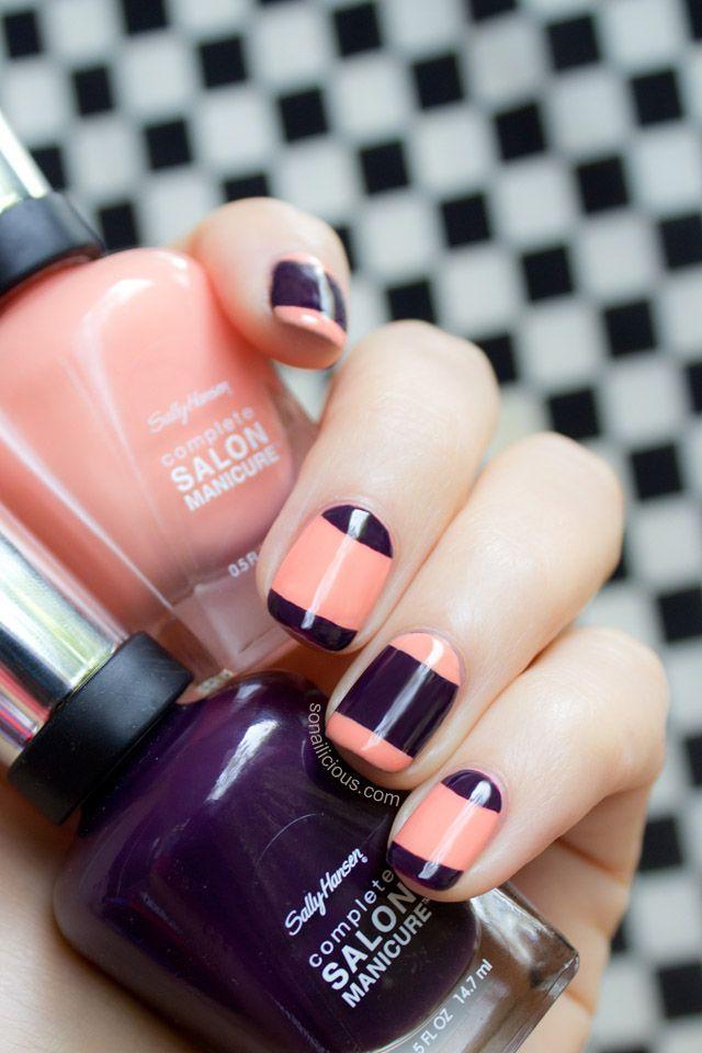 Beautiful french manicure.