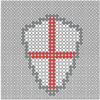 St George's Day Fuse Bead Patterns