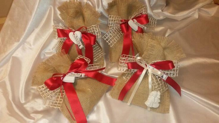Confezione natalizia con gessetti profumati
