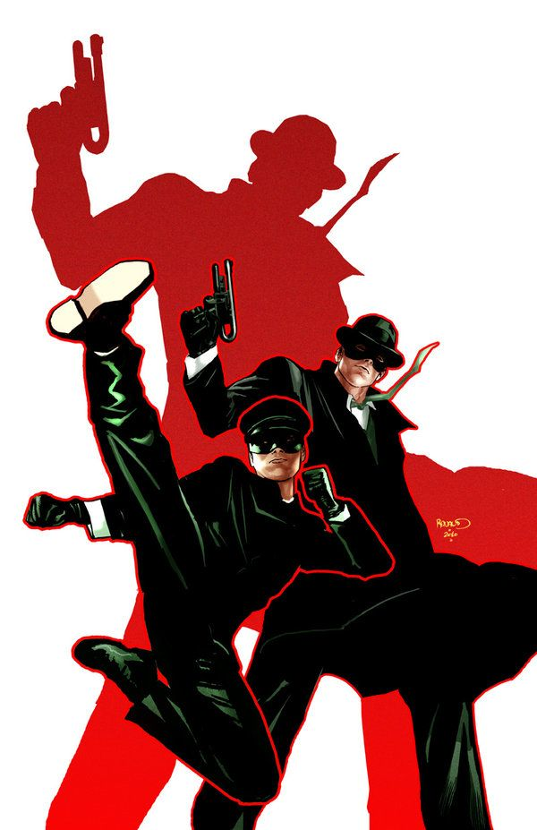 GREEN HORNET: PARALLEL LIVES 4 by PaulRenaud.deviantart.com - #fanart Kato and Britt Reid