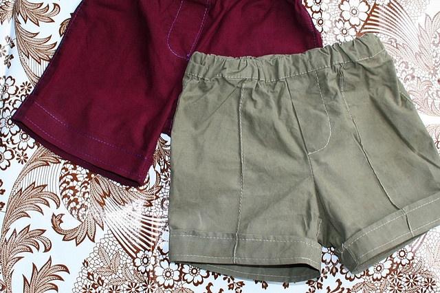 Korte broek maken uit lange