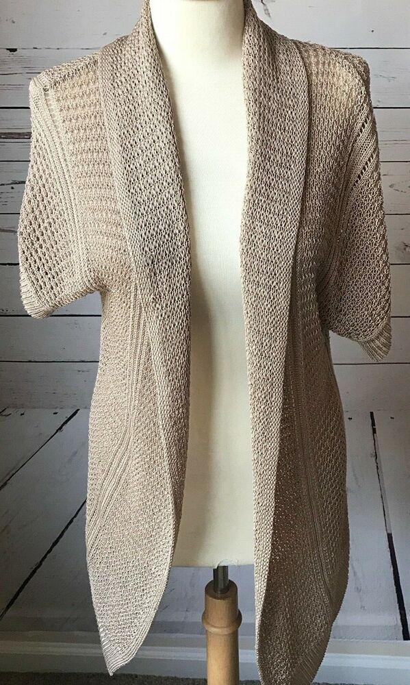 Cheap Sale Elena Solano Merino Wool Wrap Sweater Petite Small Panties