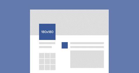 Facebook Görselleri Kuralına Göre Uygulayın.