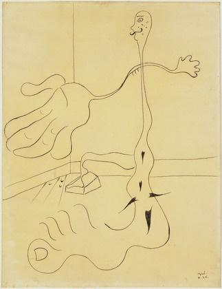 Joan Miró, Statue (1926).