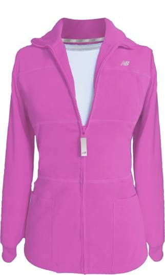 New Balance #Stat Jacket. Azalea Pink. #nurses