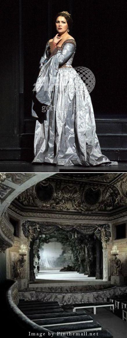 Anna Netrebko in Donizetti's Anna Bolena./Gray... - created via http://pinthemall.net
