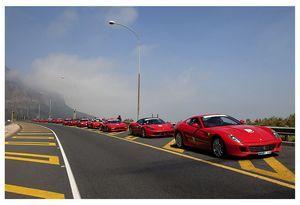 Ferrari Huguenot Tunnel Run