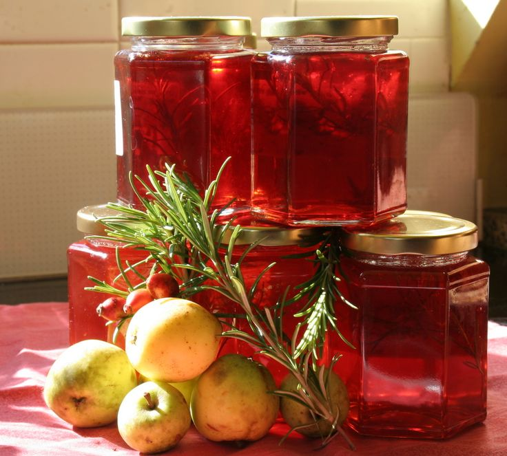 crabapple jelly, delicious!