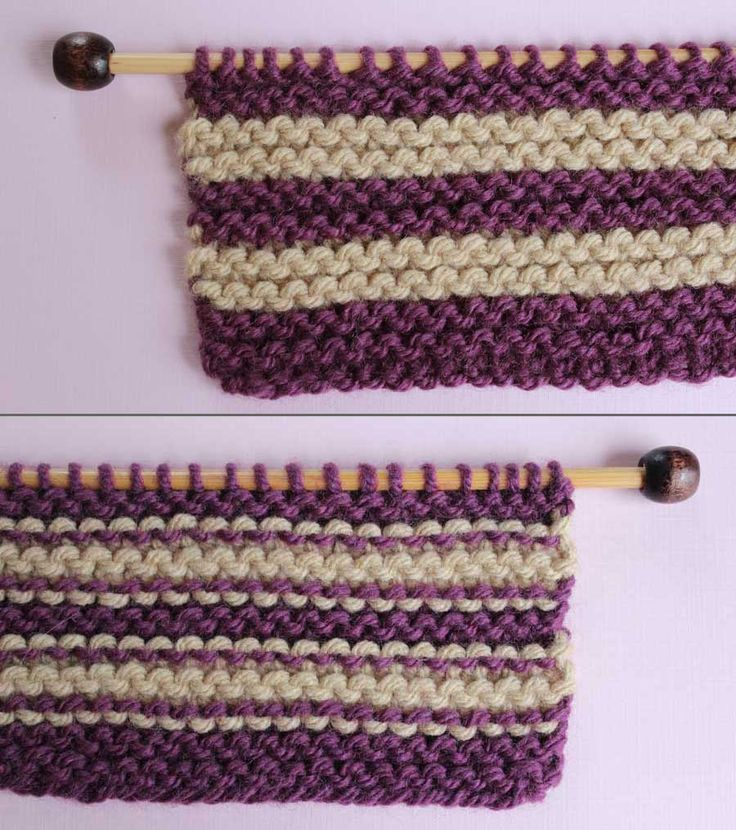 How to Remove Purl Dash Lines in Knitting with Knitting