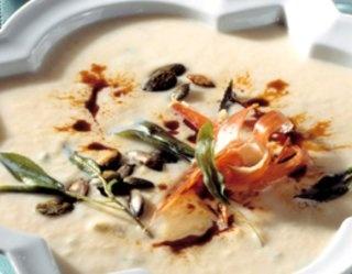 #Zupa-#krem z selera i szynka parmeńską