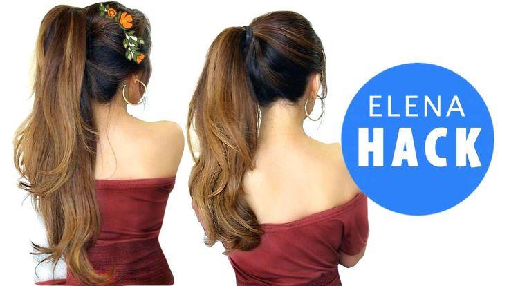 Disney Elena Hairstyle Hack Girls Cute Hairstyles