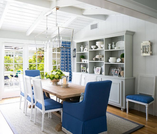 1000 images about dining rooms on pinterest casual for Light blue dining room ideas