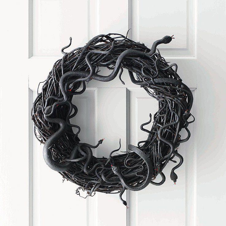 10 DIY Halloween Wreaths | POPSUGAR Home
