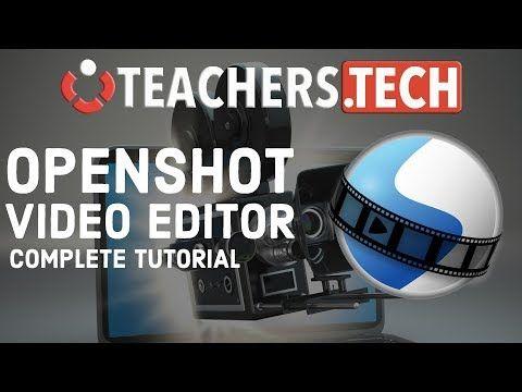 OpenShot Video Editor 2018 - Complete Beginners Tutorial