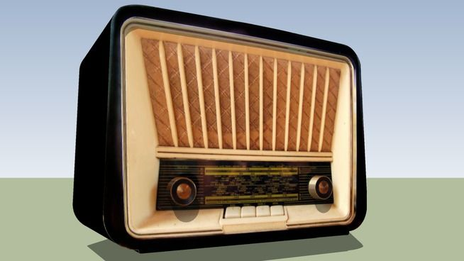 ANTİKA RADYO-ANTIQUE RADIO - 3D Warehouse