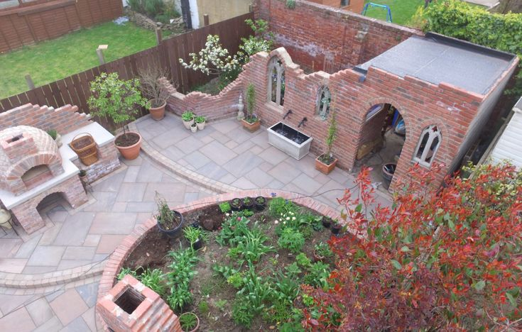 Unique Gothic themed multipurpose garden. Click the link ...