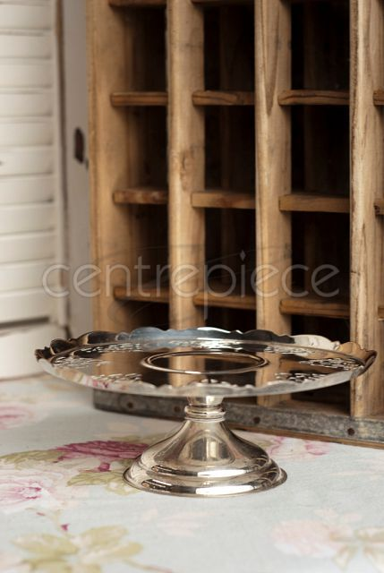 Silver Cake Stand 06
