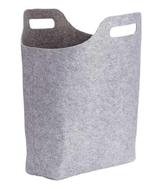 Stor förvaringskorg i filt