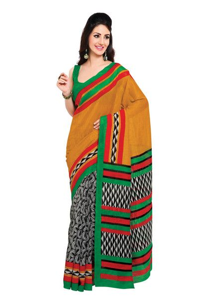Art Silk Saree available at VariationFashion.com: http://www.variationfashion.com/collections/art-silk-sarees/under-rs-1000+in-stock #SilkSaree #EthnicIndian #IndianTraditionalOutfit