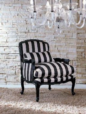 Fotel w stylu barokowym  - Novelle