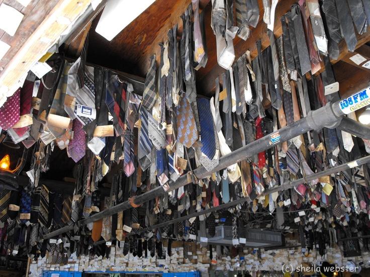 Neckties That Lost Their Lives At Pinnacle Peak Patio Fun