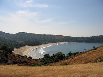 Kudle beach in Gokarna. One of the must visit beaches in india...