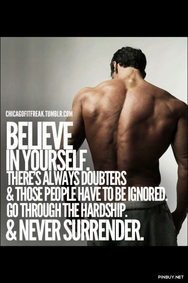 Motivation fitness bodybuilding quote training