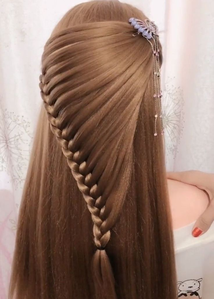 Enchanting hairstyles braided mohawk ideas to keep up with trends 20
