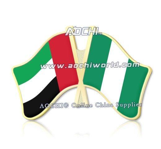 Лучшие продажи смешивать и сочетать объединенные арабские эмираты и нигерия скрещенные отворотом флагов