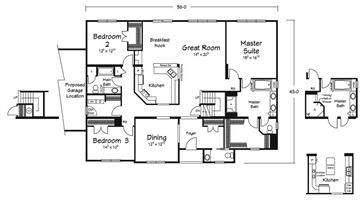 Floor Plans :: Becker Homes - Custom Modular Homes - Walnutport, PA