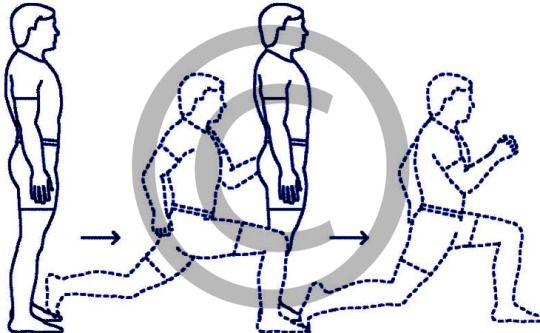 #Physical Preparations for #Mountaineering Courses - Do #Lunges for developing Leg Strength