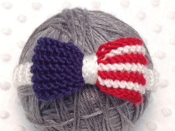 USA Baby Headband USA Newborn Headband 4th of by DesignsbyLeahC