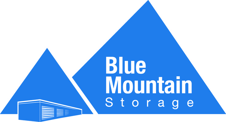 Blue Mountain Storage Logo designed by Fusion Studios Inc.