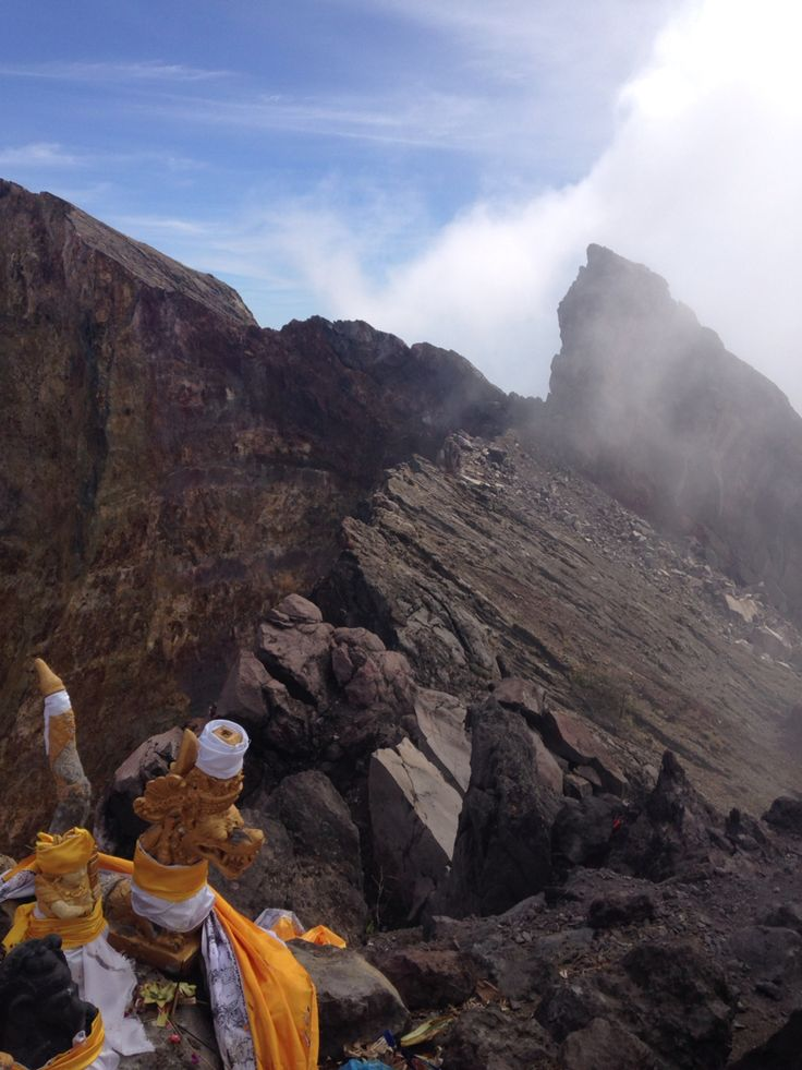 On The Top of Mt. Agung
